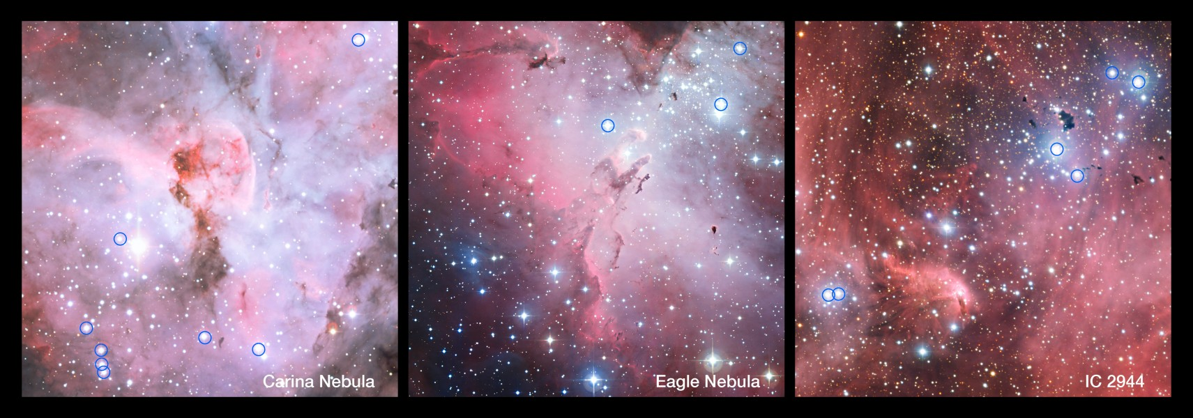 Hot and brilliant O stars in star-forming regions