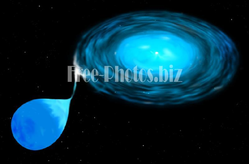 Accretion Disk Binary System