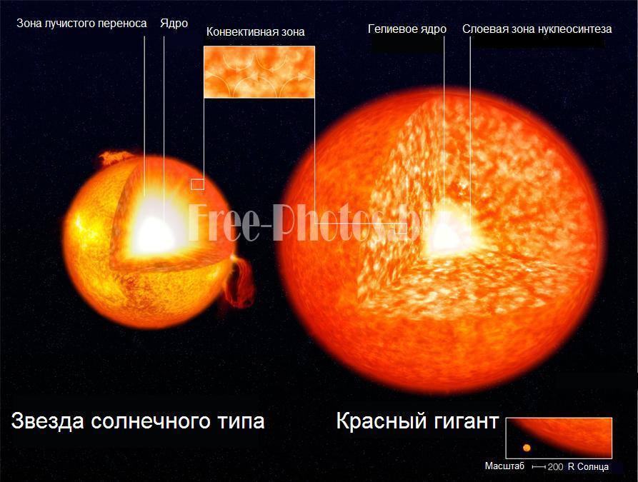 Solar-type Red Giant structure RU
