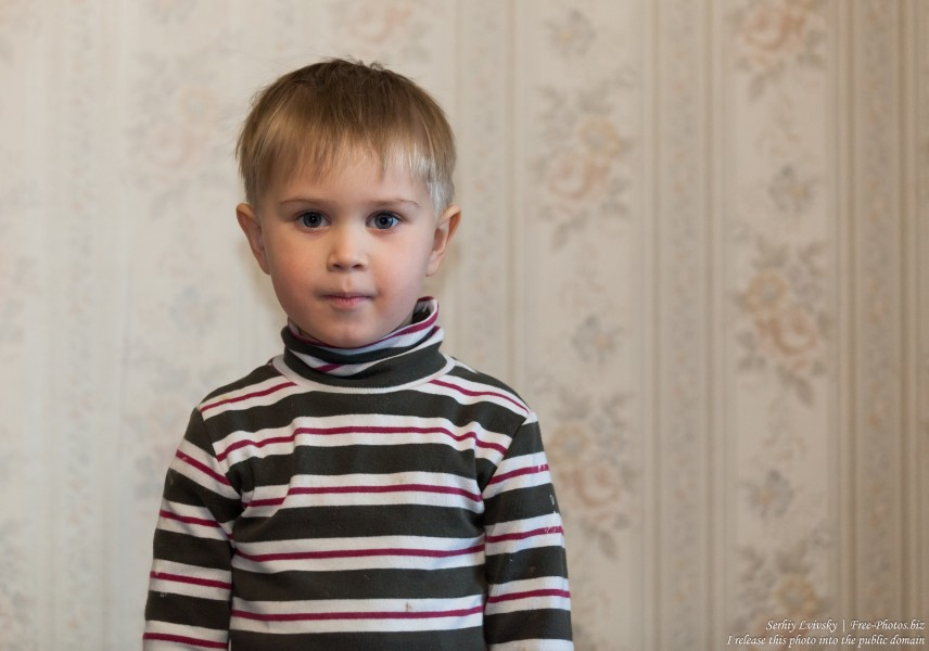 a 3-year-old boy in January 2017, image 1