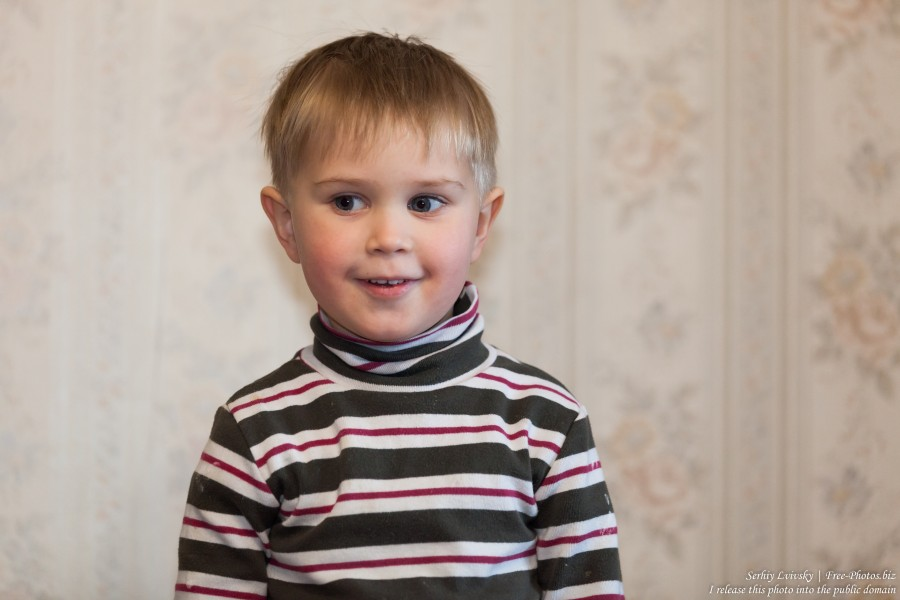 a 3-year-old boy in January 2017, image 2
