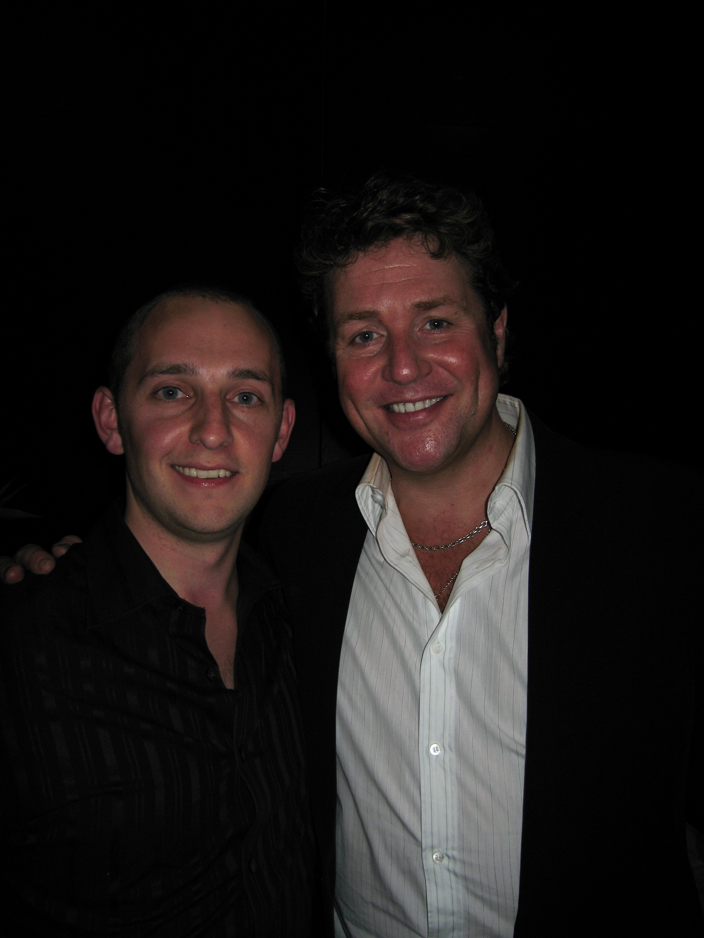 Michael Ball and Noyes -Cardiff 21Oct2006