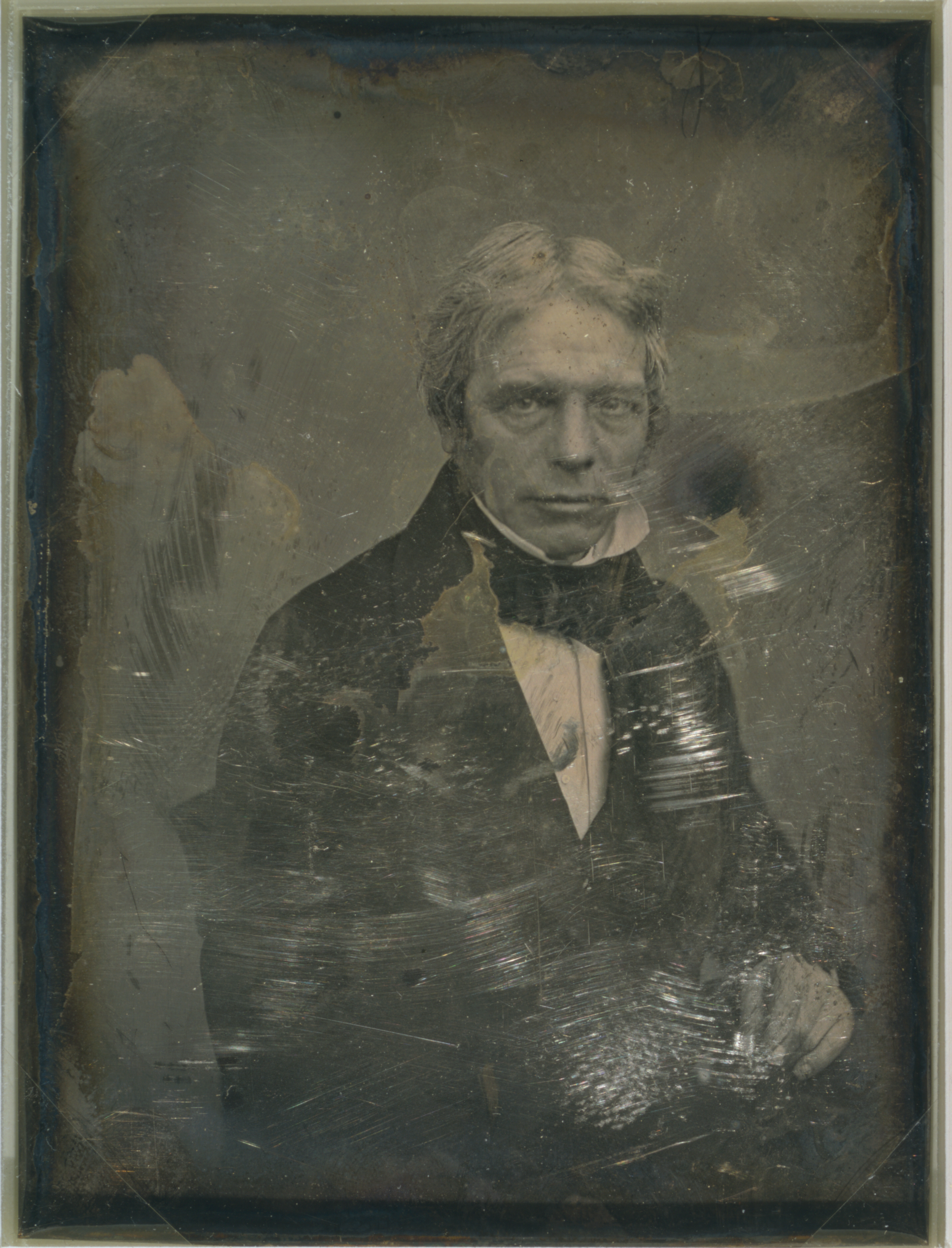 Michael Faraday, by Mathew Brady studio, between 1844 and 1860