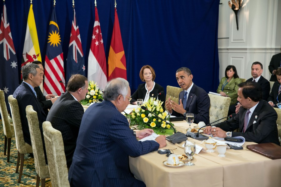 Barack Obama at ASEAN Summit 2012