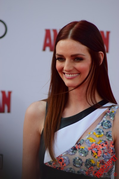 Lydia Hearst at the World Premiere of Marvel's Ant-Man -AntMan -AntManPremiere - DSC 0022 (18679591504)