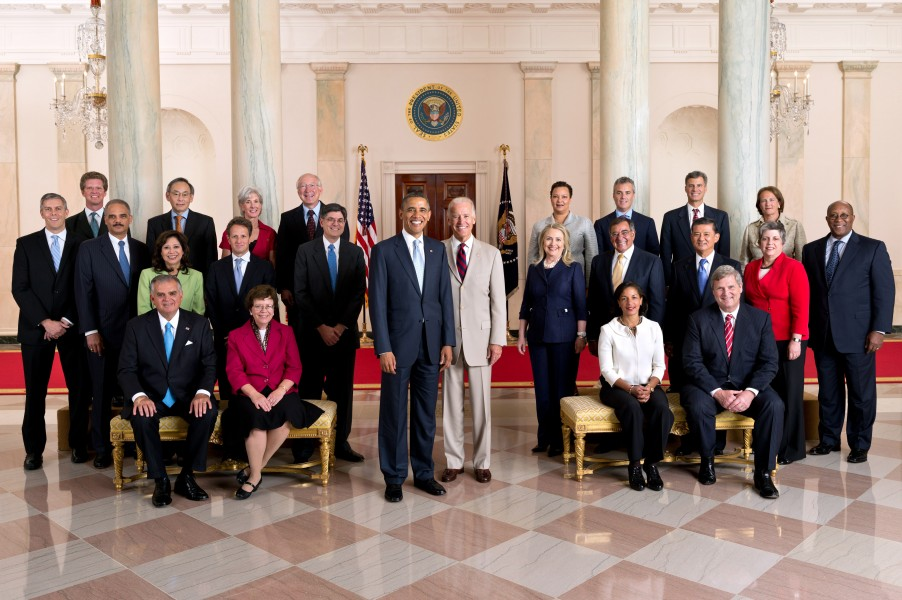 US Cabinet official group photo July 26, 2012