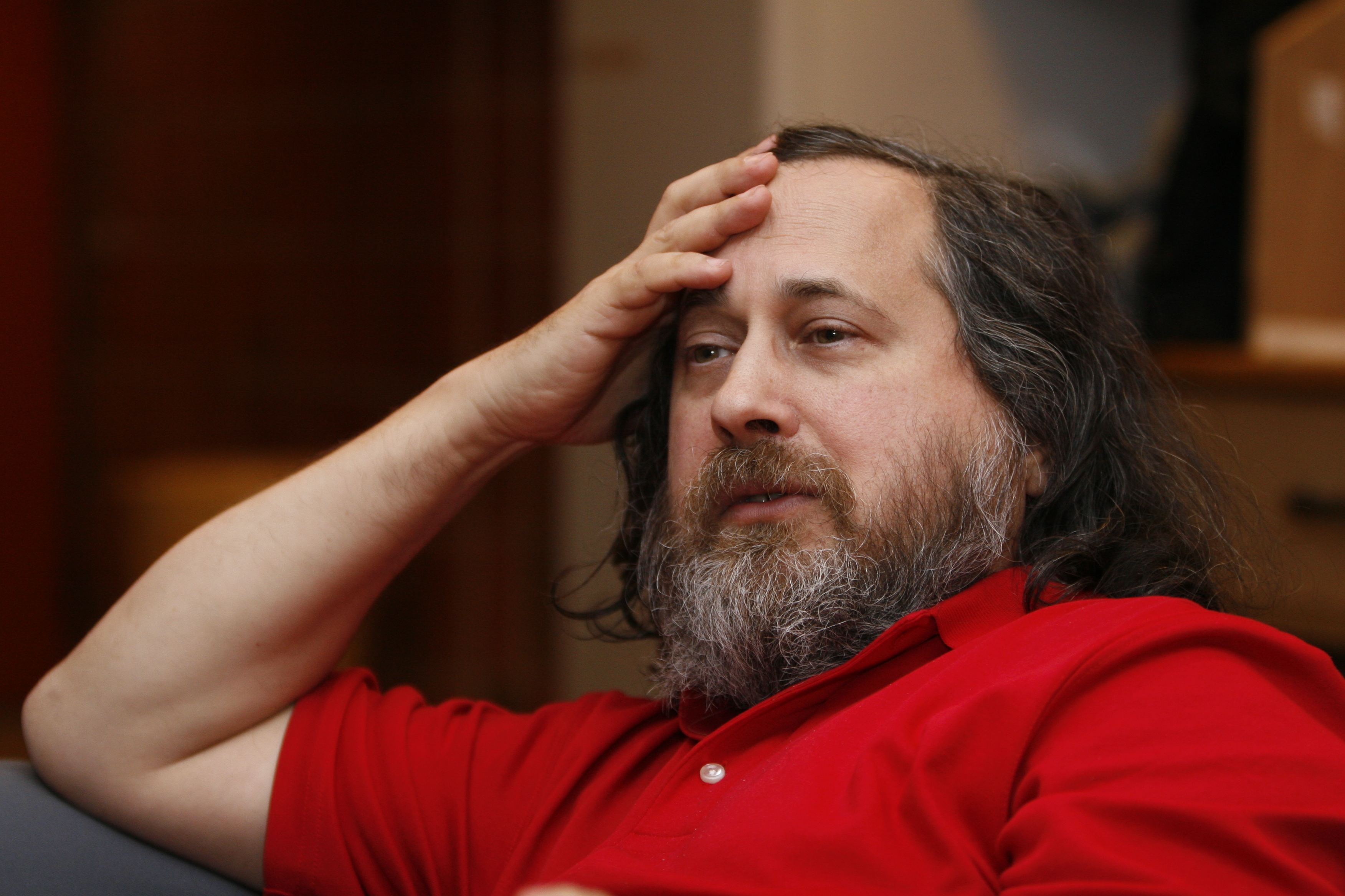 Richard Stallman by Anders Brenna 01
