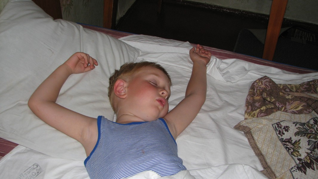 a sleeping boy, picture 3