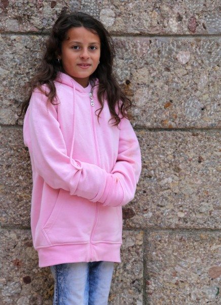 a child girl photographed in Montserrat, Spain, in August 2013, picture 3/4