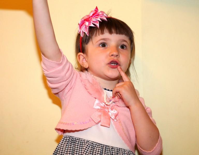 a cutie in a Catholic kindergarten in May 2013, picture 3