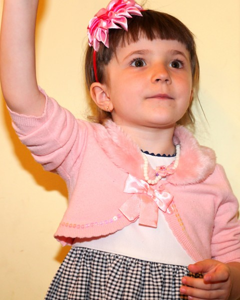 a cutie in a Catholic kindergarten in May 2013, picture 4