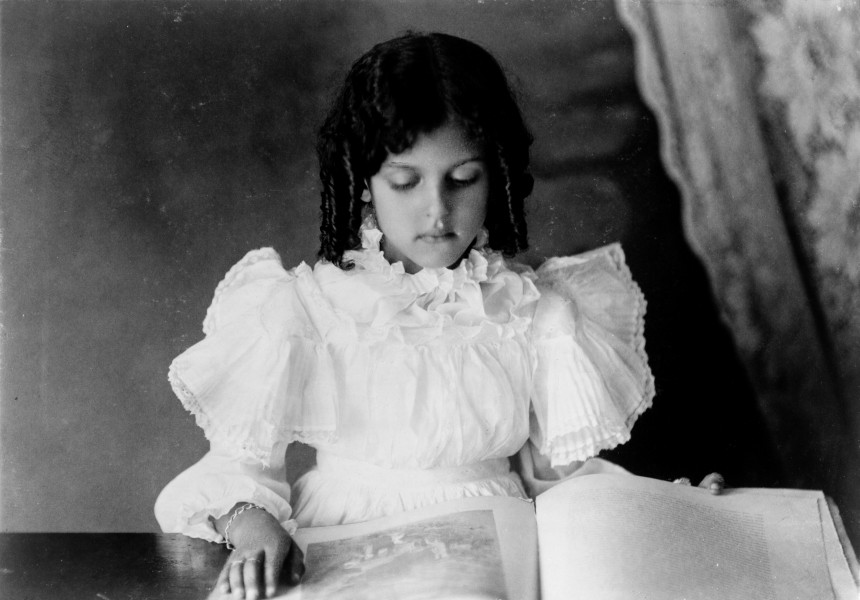 African American girl by unknown photographer, ca. 1899