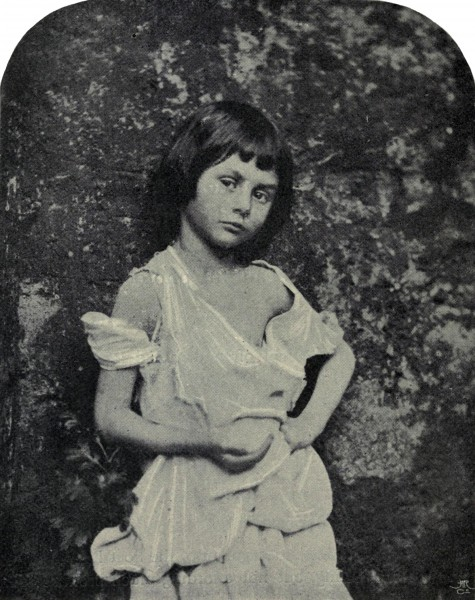 Alice Liddell as 'The Begger Child'