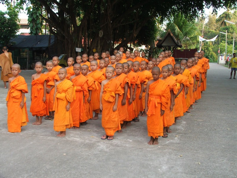 Child monk group