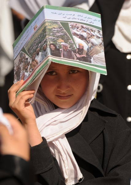 Flickr - DVIDSHUB - ANSF and ISAF Help Local School Ease Overcrowding