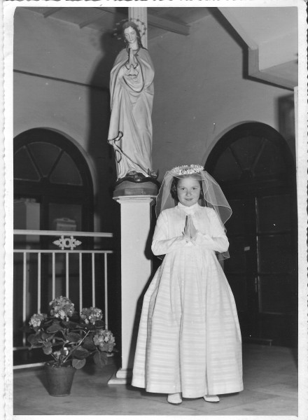 Naples, Italy 1950 - First Communion