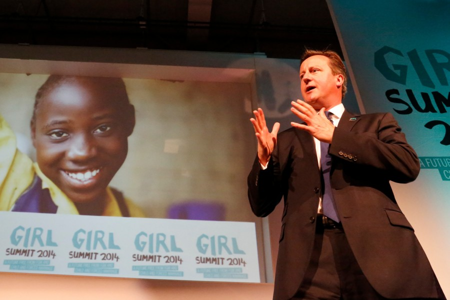 Prime Minister David Cameron speaks at Girl Summit 2014 (14713558401)