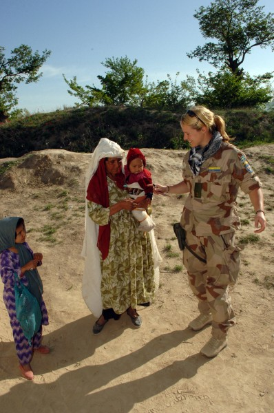 Swedish Military Observer Team Liaison Officer in Afghanistan 2006 (2)