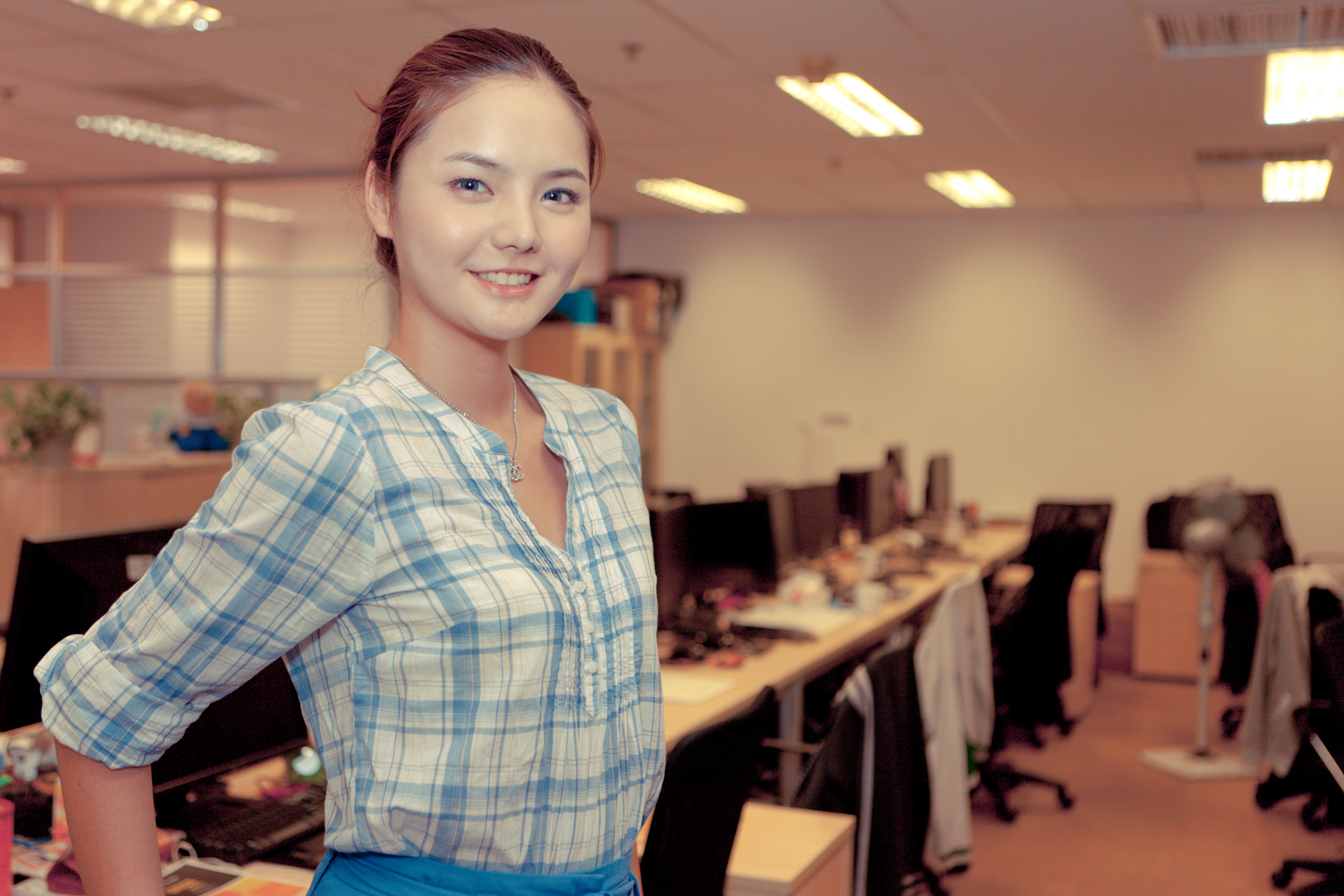 an attractive office worker (6759453761)