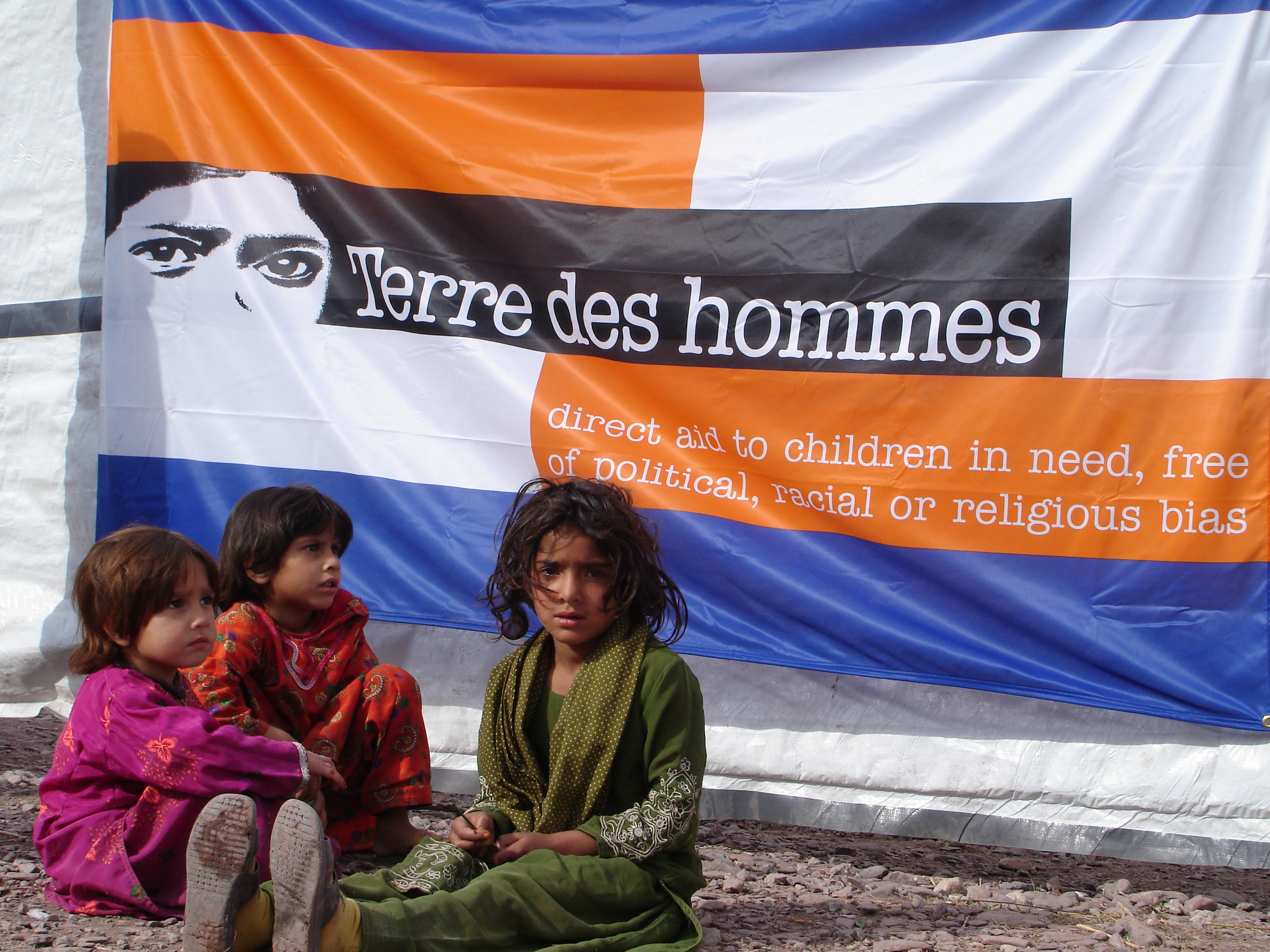 Terre des Hommes chield relief in Pakistan