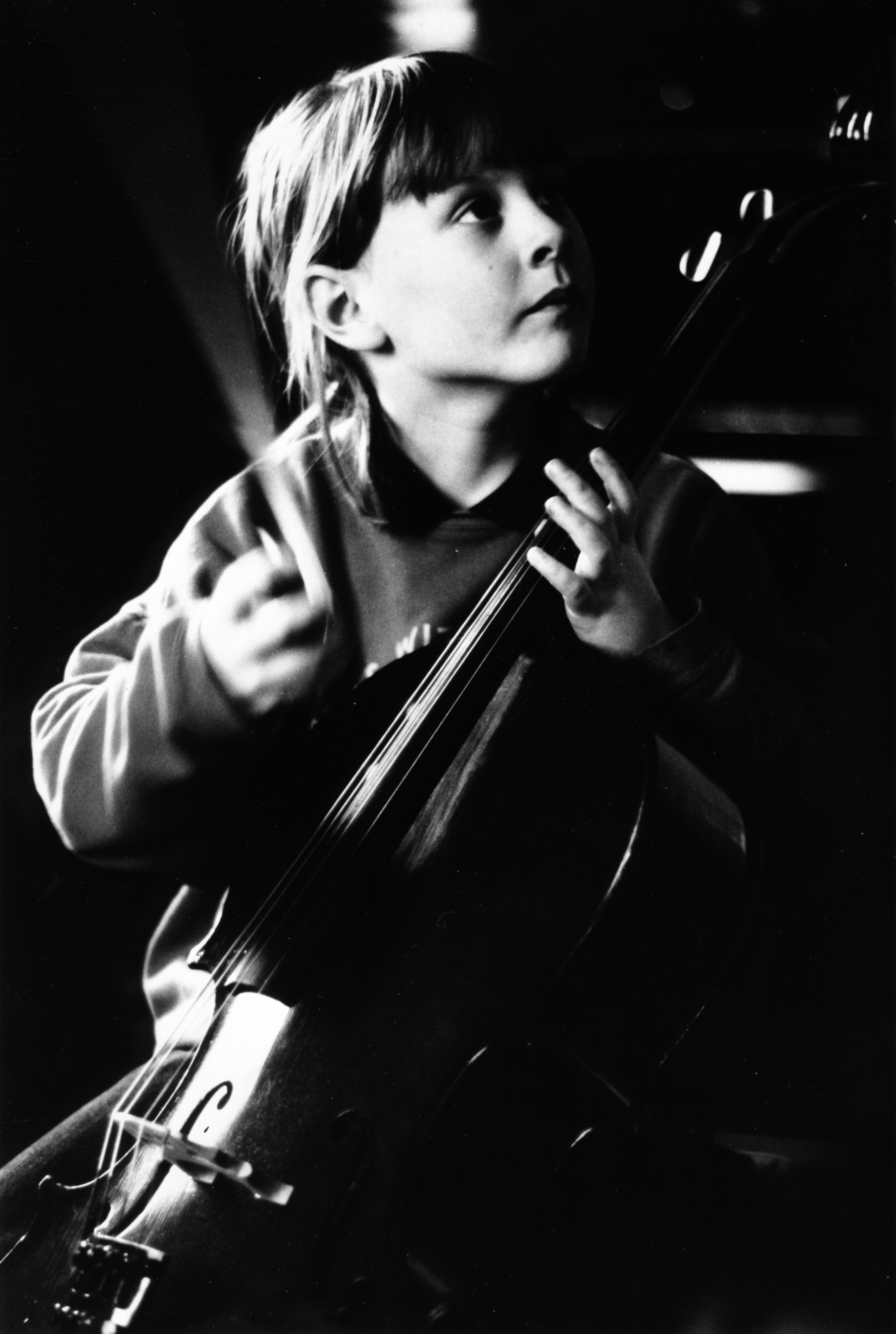 Cellist cello 1995