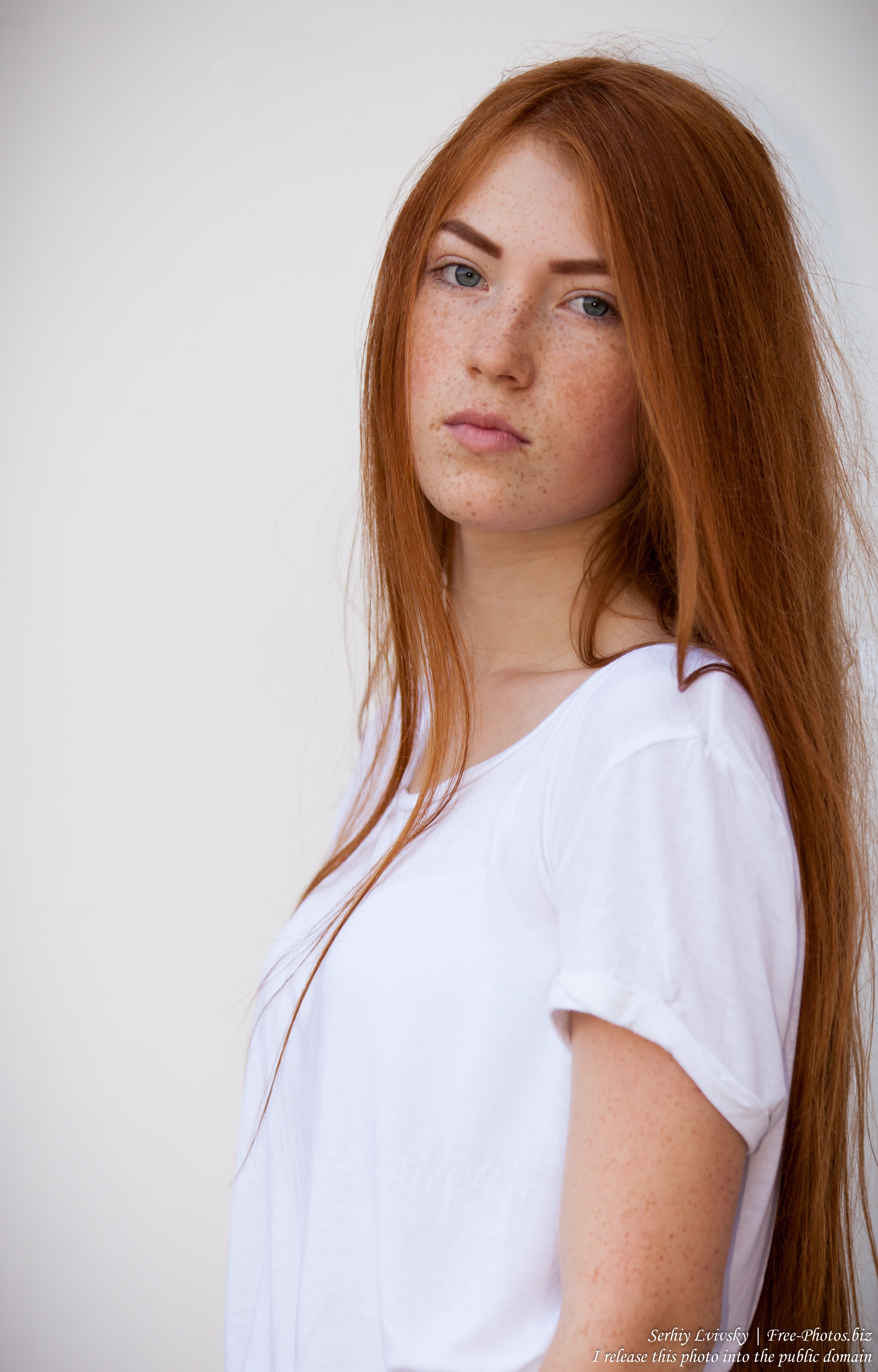 a 15-year-old red-haired Catholic girl photographed by Serhiy Lvivsky in August 2015, picture 3