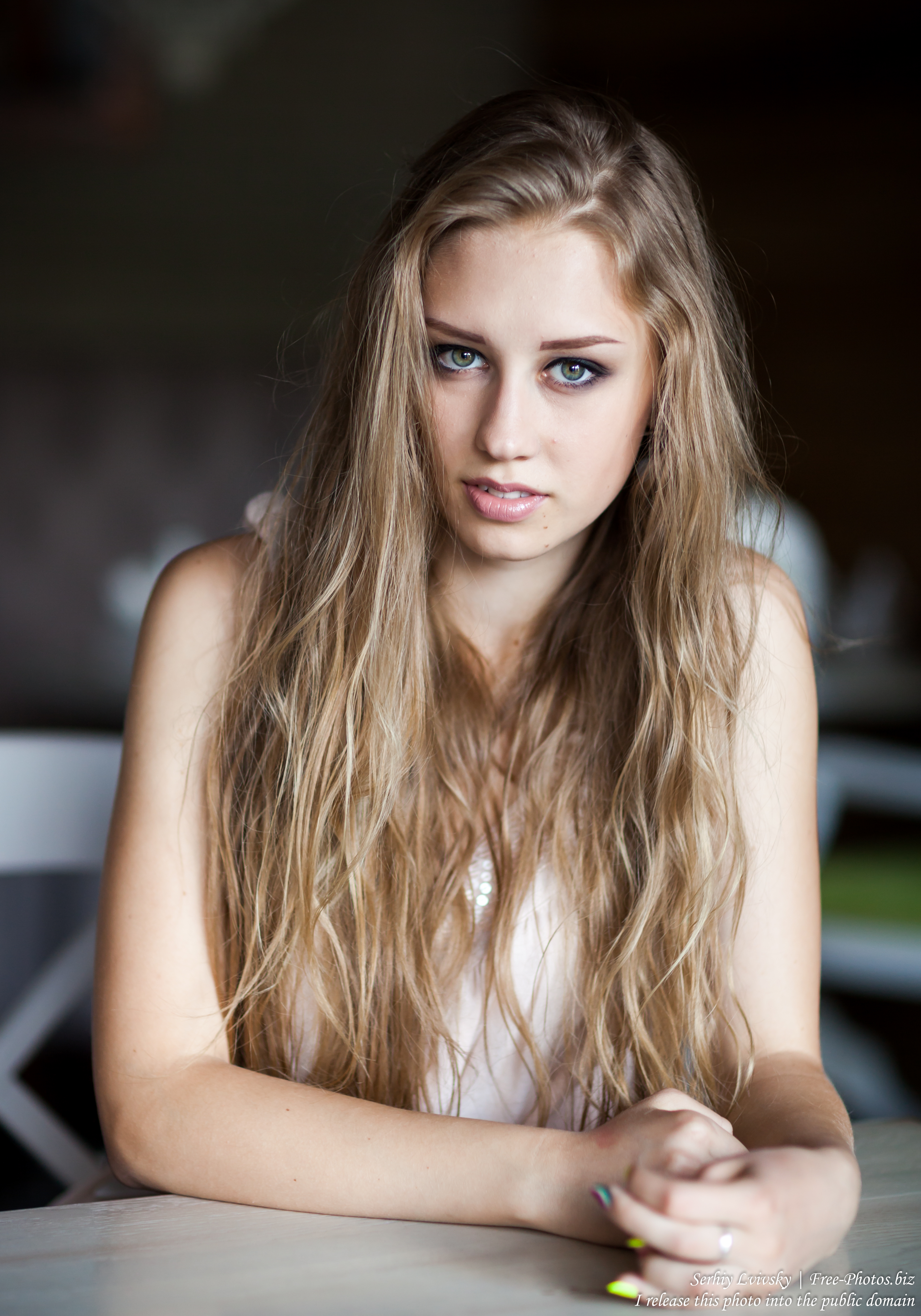 a 16-year-old natural blonde girl photographed in August 2016 by Serhiy Lvivsky, picture 17