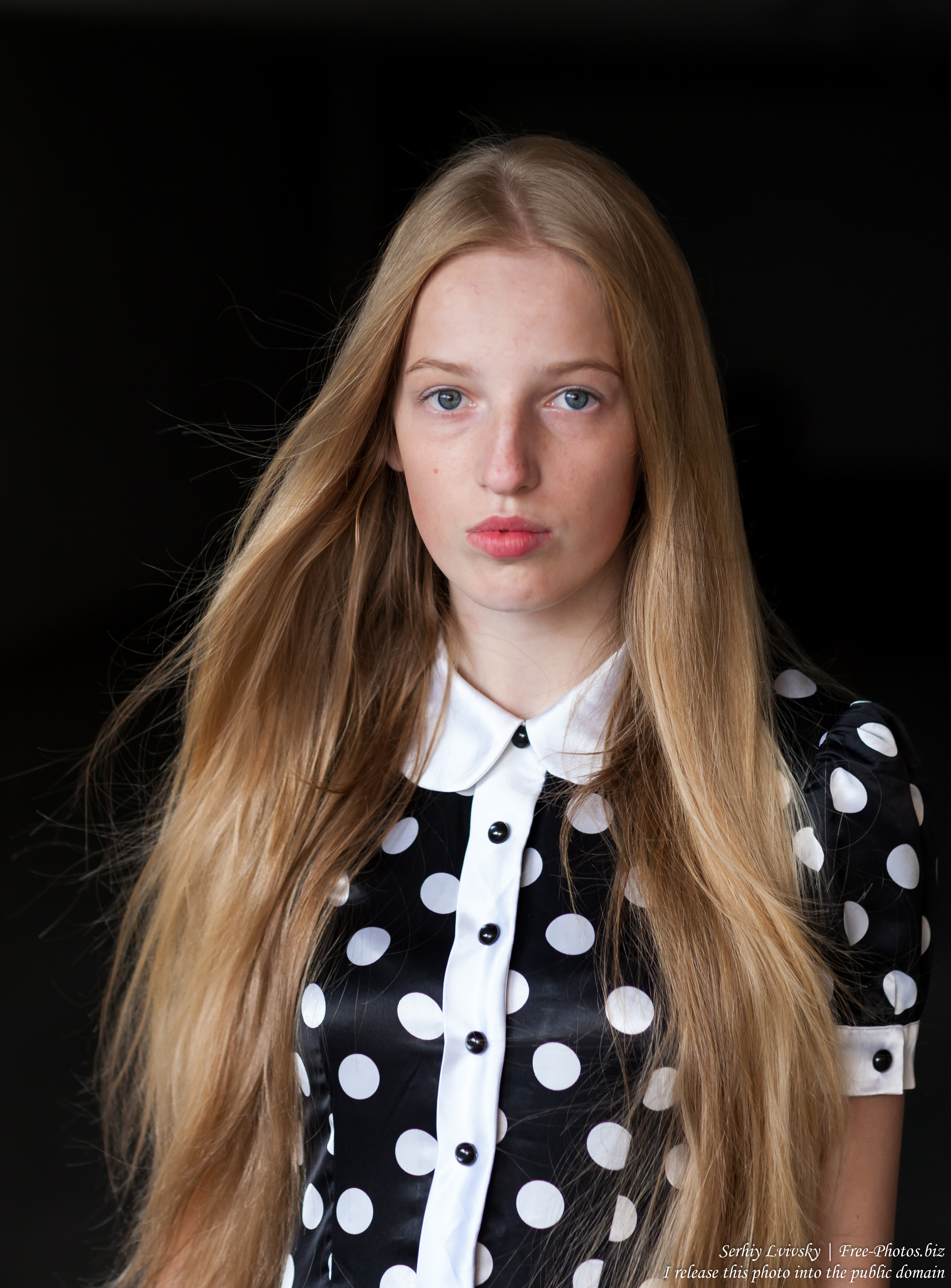 a 17-year-old Catholic natural blond girl photographed in September 2016 by Serhiy Lvivsky, picture 6