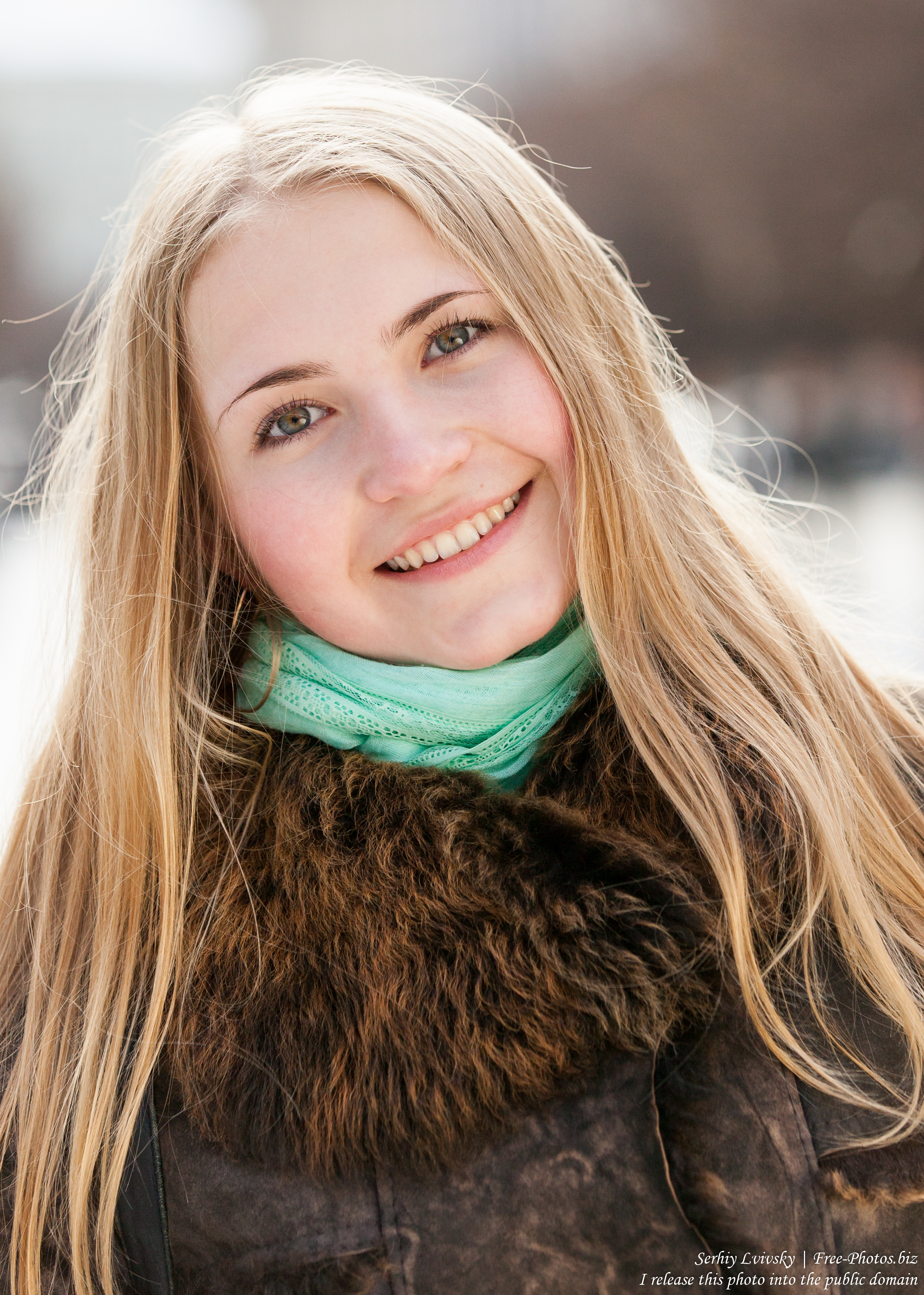 a beautiful 19-year-old Catholic blond girl photographed in February 2015, picture 7