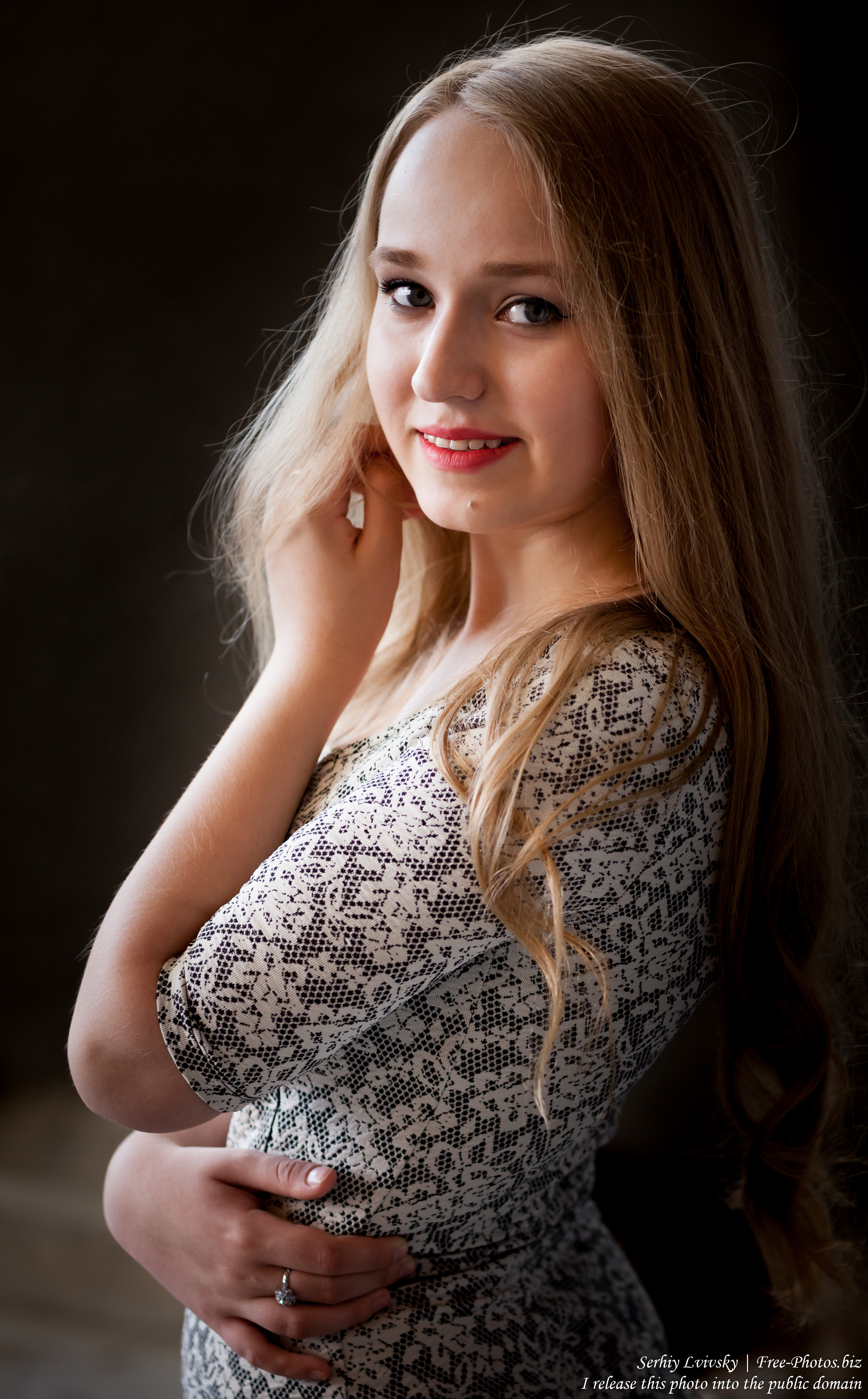 another natural blond 16-year-old girl photographed by Serhiy Lvivsky in July 2016, picture 7