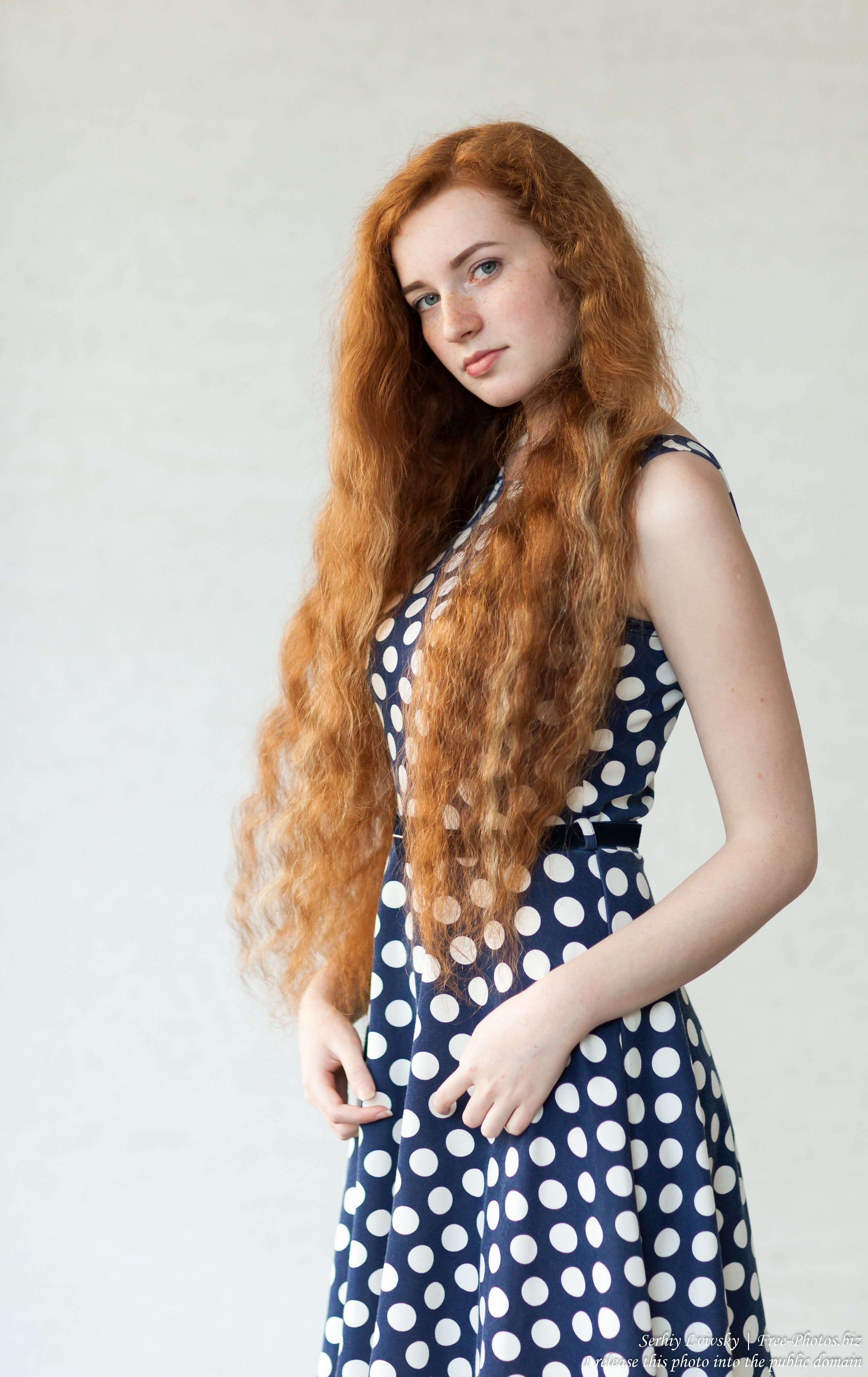 Ania - a 19-year-old natural red-haired girl photographed in June 2017 by Serhiy Lvivsky, picture 8