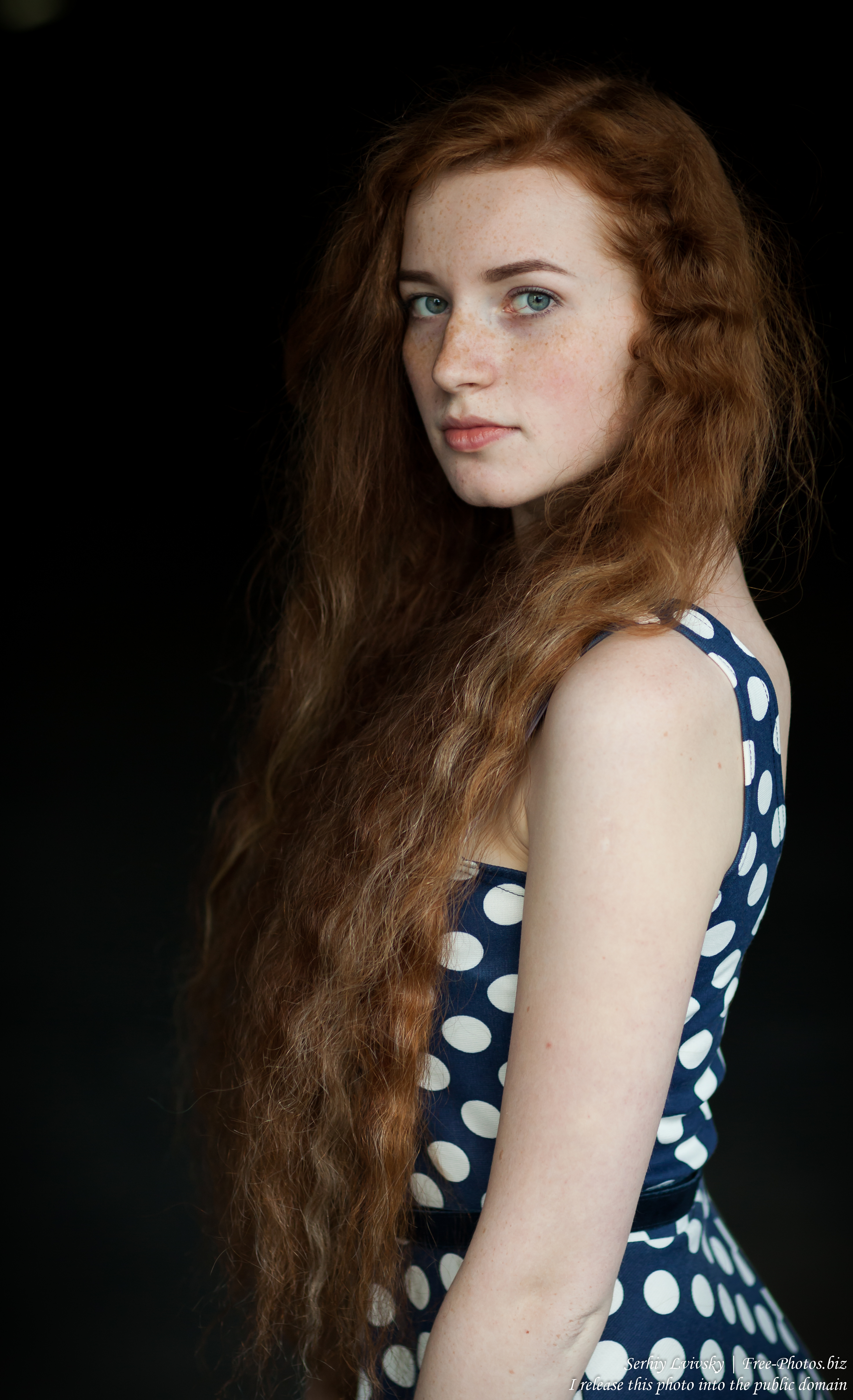 Ania - a 19-year-old natural red-haired girl photographed in June 2017 by Serhiy Lvivsky, picture 21