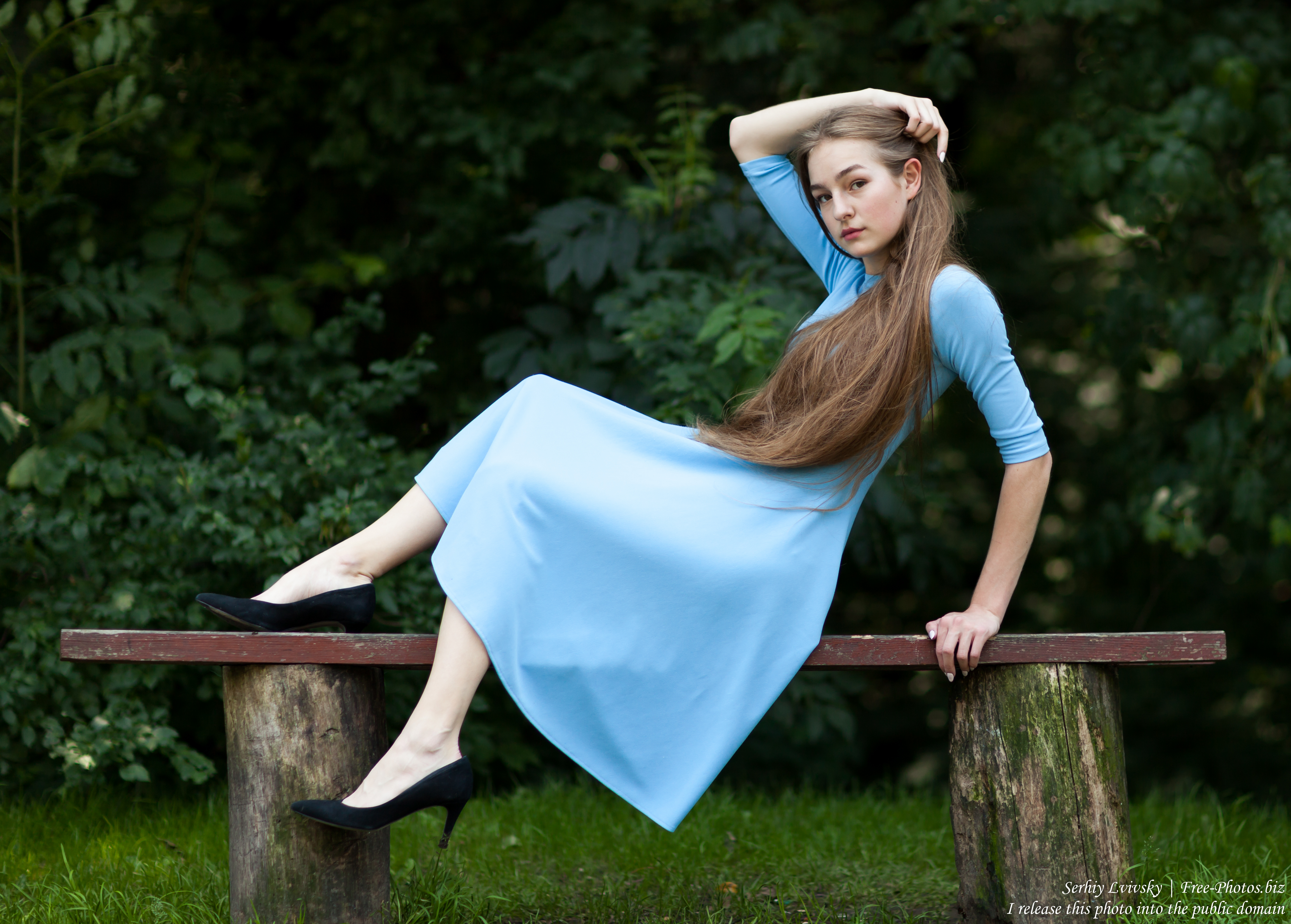 Justyna - a 16-year-old fair-haired girl photographed in June 2018 by Serhiy Lvivsky, picture 12