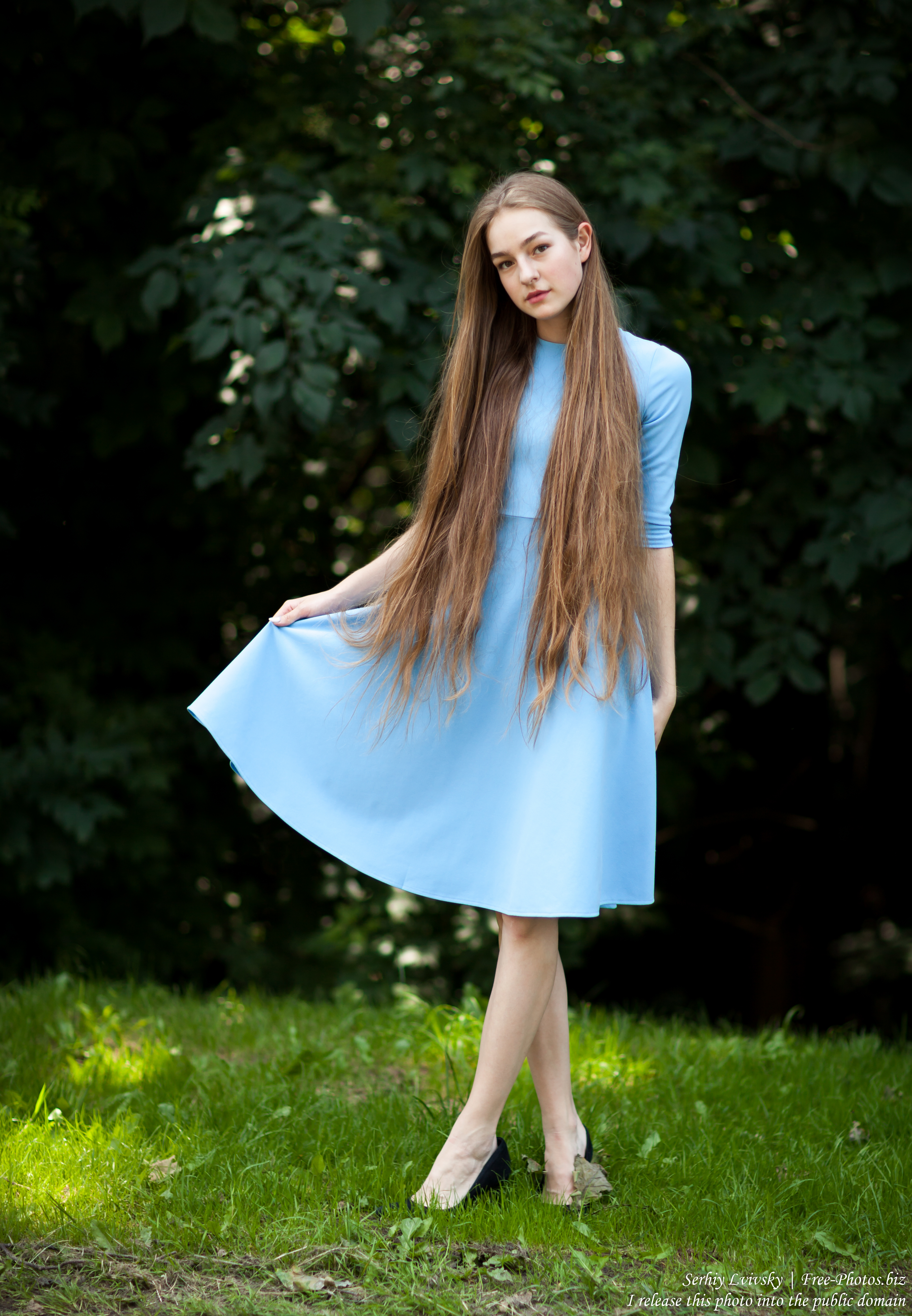 Justyna - a 16-year-old fair-haired girl photographed in June 2018 by Serhiy Lvivsky, picture 13