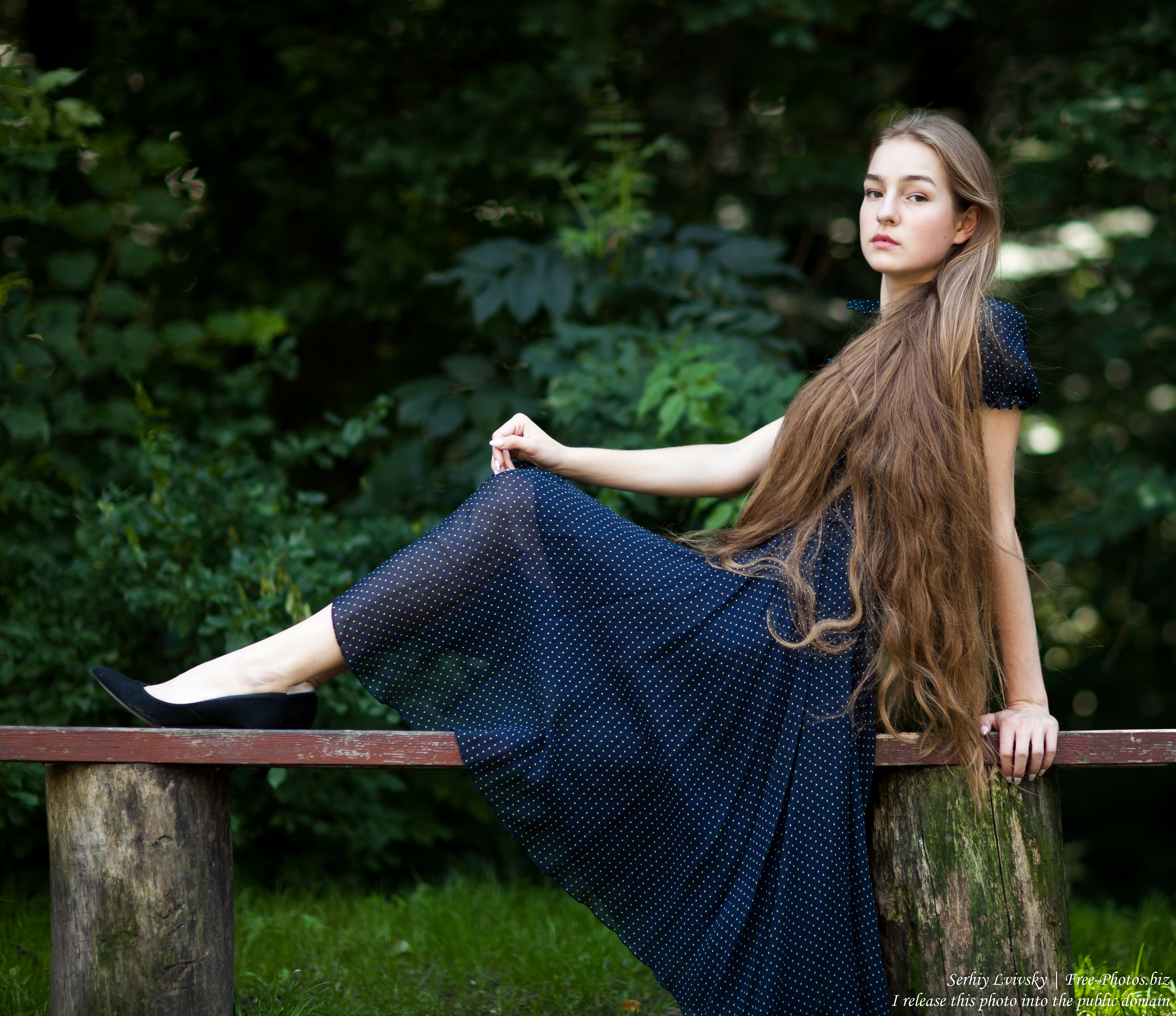 Justyna - a 16-year-old fair-haired girl photographed in June 2018 by Serhiy Lvivsky, picture 21
