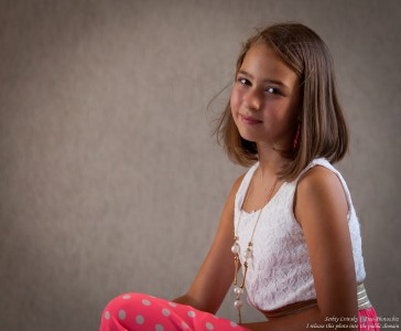 a 12-year-old girl photographed in July 2015 by Serhiy Lvivsky, picture 5