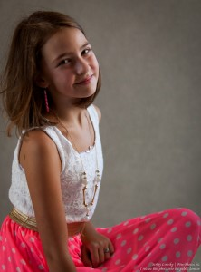 a 12-year-old girl photographed in July 2015 by Serhiy Lvivsky, picture 8