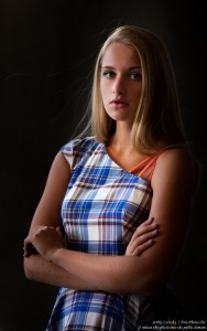 a 14-year-old natural blond girl photographed by Serhiy Lvivsky in July 2016, picture 4