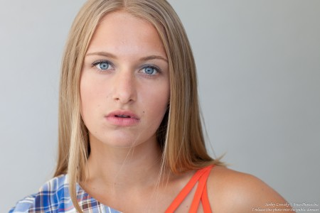 a 14-year-old natural blond girl photographed by Serhiy Lvivsky in July 2016 (unprocessed!), picture 5