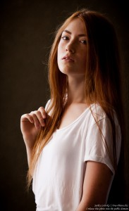 a 15-year-old red-haired Catholic girl photographed by Serhiy Lvivsky in August 2015, picture 1