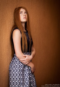 a 15-year-old red-haired Catholic girl photographed by Serhiy Lvivsky in August 2015, picture 4