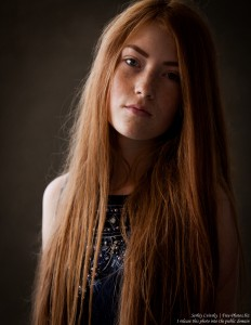 a 15-year-old red-haired Catholic girl photographed by Serhiy Lvivsky in August 2015, picture 10