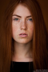 a 15-year-old red-haired Catholic girl photographed by Serhiy Lvivsky in August 2015, picture 11