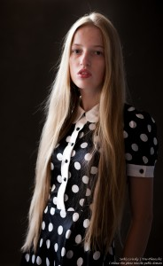 a 17-year-old Catholic natural blond girl photographed in September 2016 by Serhiy Lvivsky, picture 1