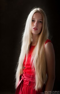 a 17-year-old Catholic natural blond girl photographed in September 2016 by Serhiy Lvivsky, picture 9