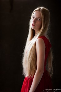 a 17-year-old Catholic natural blond girl photographed in September 2016 by Serhiy Lvivsky, picture 10