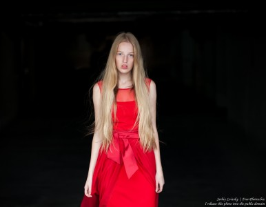 a 17-year-old Catholic natural blond girl photographed in September 2016 by Serhiy Lvivsky, picture 18