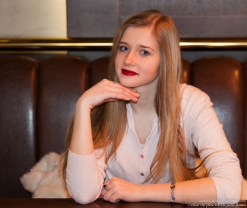 a 17-year-old natural blond girl photographed by Serhiy Lvivsky in January 2016, picture 19