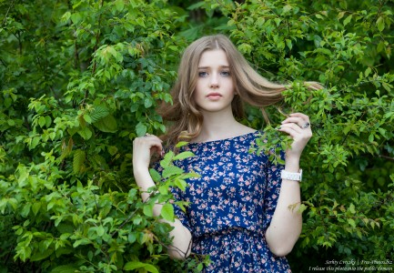 a 17-year-old natural blond girl photographed in May 2016 by Serhiy Lvivsky, picture 17