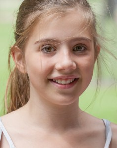 a creation of God - a cute fair-haired girl in Copenhagen, Denmark, in June 2014, picture 30